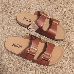 Mudd® Women's Double Buckle ... Slide Sandals daryz1uS9